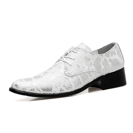 Apragaz Zapatos de Vestir de Fiesta para Hombres, Piel de ...