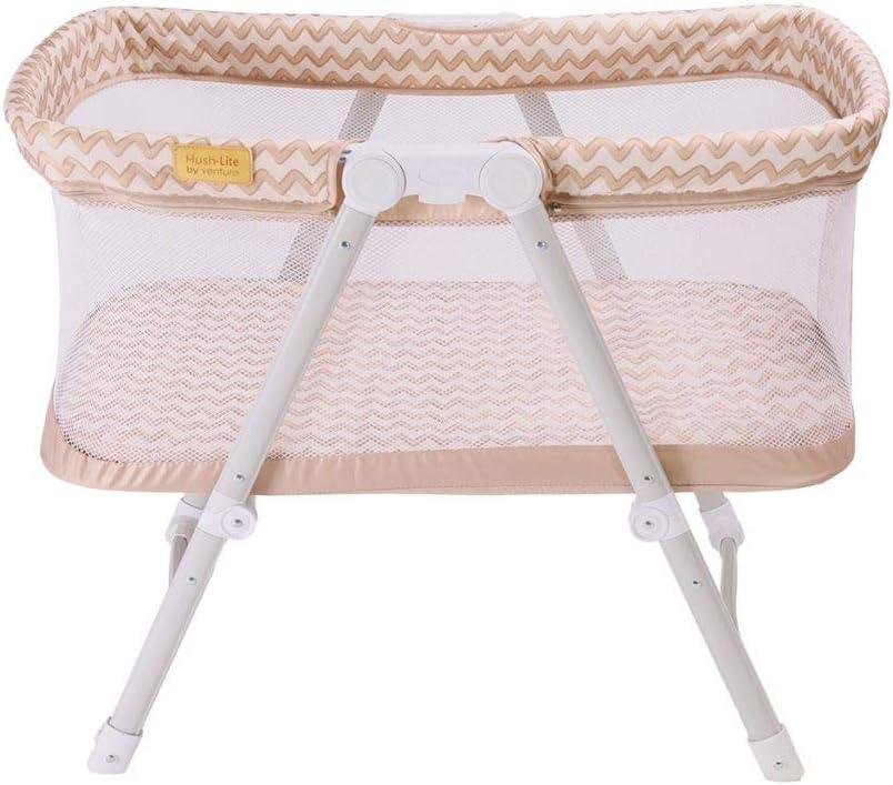 color crema Cuna para beb/é Venture Hush Lite cuna de viaje compacta de 0 a 6 meses