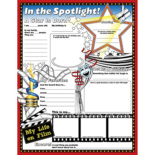NORTH STAR TEACHER RESOURCE Fill Me in The Spotlight Aid -