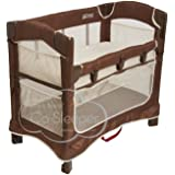 Arm's Reach Concepts Mini Ezee 3-in-1 Bedside Bassinet - Cocoa/Natural