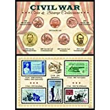 American Coin Treasures Civil War Coin and Stamp