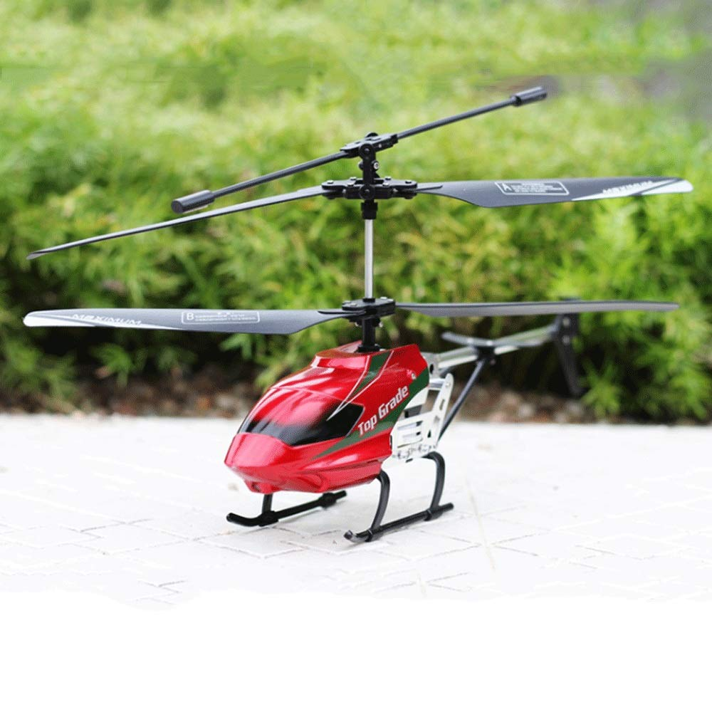 Zenghh RC Helicopter Drone Remote Control Aircraft 33cm 4.5 Channel Alloy Rack Multiplayer Game Boy Toy Airplane Model Gyro Children's Favorite Prize Oversized Preferred Gift