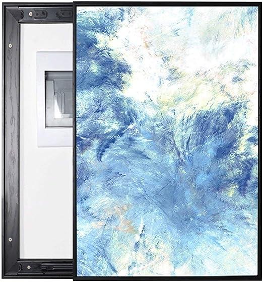 Medidor eléctrico Caja Pintura decorativa Push-pull Vertical Pared ...