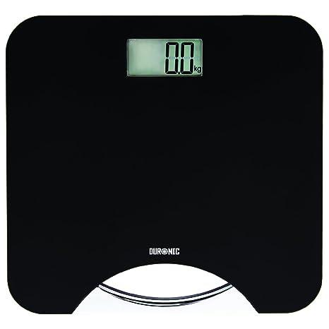 Duronic BS801 Báscula de Baño Digital de Alta Precisión Panatlla LCD Peso Corporal hasta 180 kg