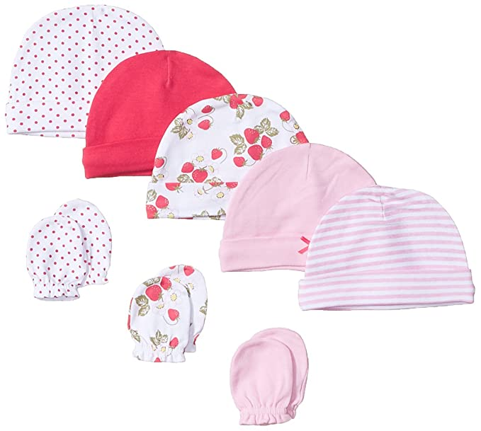 91fa95e3c53 Hudson Baby Baby Cap and Scratch Mitten Set