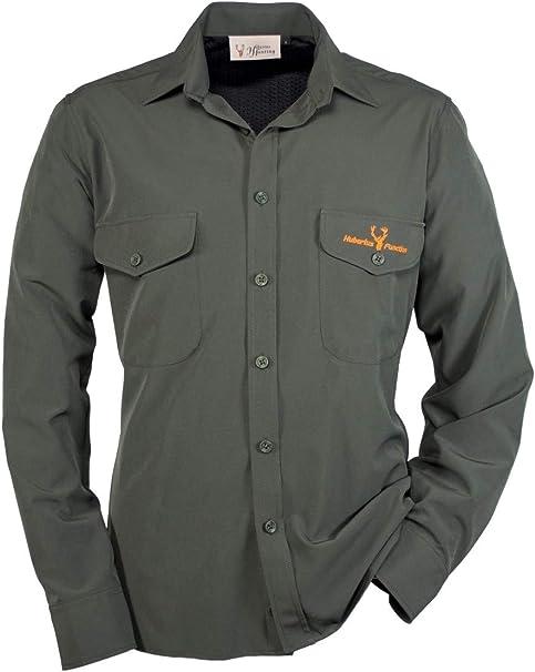 Hubertus Amazonas - Camisa de Caza, Color Verde Oscuro ...