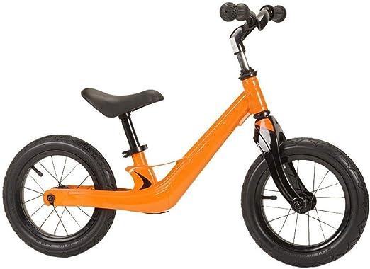 CQILONG Bicicleta Sin Pedales Ligera De Equilibrio Dirección ...