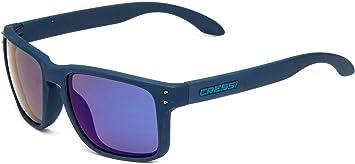 Cressi Blaze Sonnenbrille, Matt Weiß/Lenses Dunkelgrau, One Size