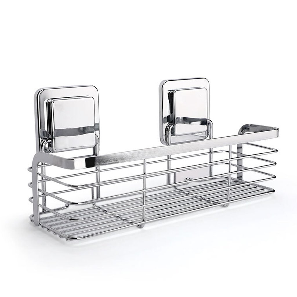 XY Soap dish Bathroom Stainless Steel Single Wall Frame Bathroom Accessories, Kitchen Storage Stainless Steel Bathroom Storage Rack, 130mm 110mm 290mm