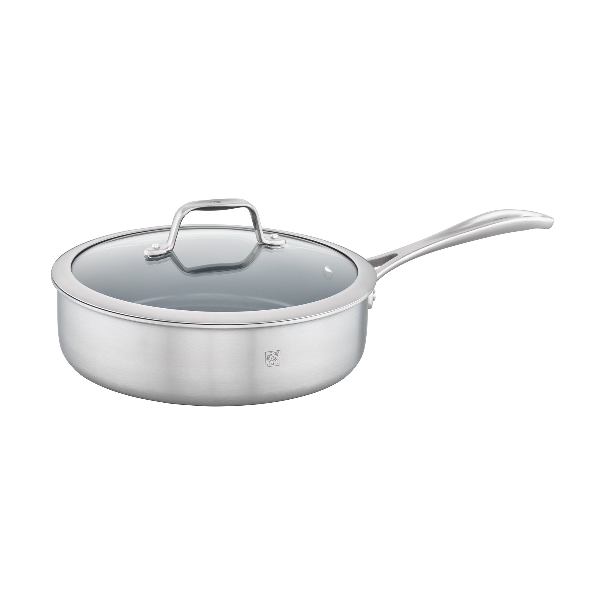 ZWILLING Spirit 3-ply 3-qt Stainless Steel Ceramic Nonstick Saute Pan
