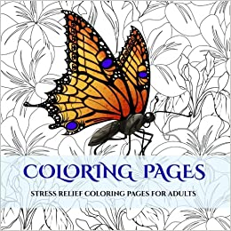 coloring pages an adult coloring book