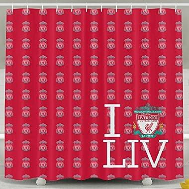 ASJDO Shower Curtains Liverpool FC