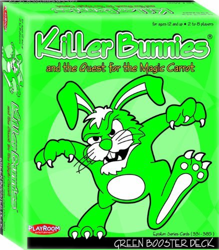Killer Bunnies Green Booster by Playroom Entertainment