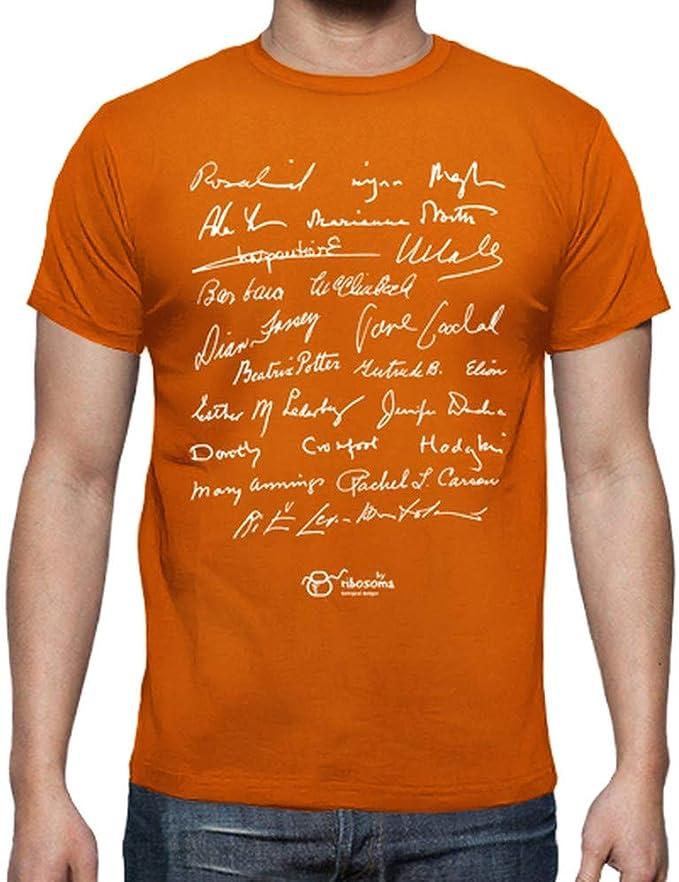 latostadora - Camiseta Women In Biology para Hombre: by ribosoma bd: Amazon.es: Ropa y accesorios