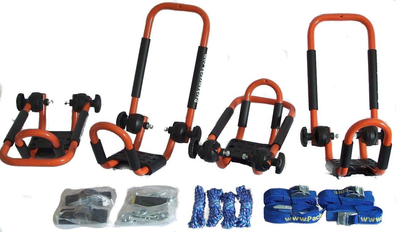 Packem Folding J-Style Kayak Rack Automobile Roof Top Rack Racks in Many Colors 2 Sets