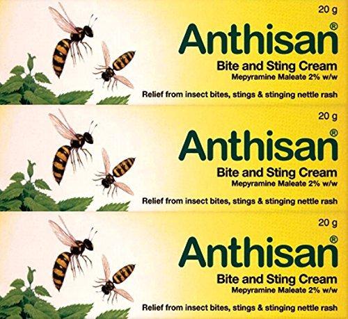 Anthisan Cream - Anthisan Bite & Sting Cream 20G X 3 Packs