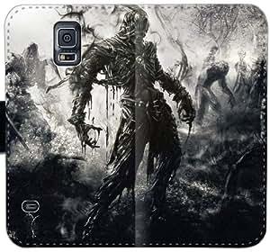 Caja del cuero de Mortal Online Bhe V7C6W Funda Samsung Galaxy S5 funda H7T8i5 cubierta del teléfono