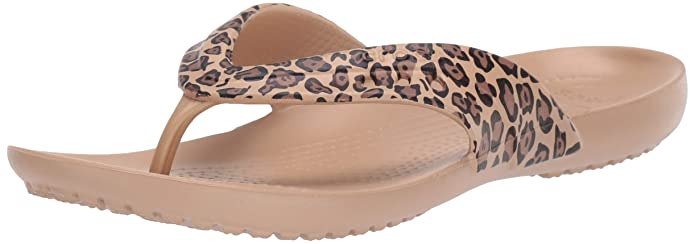 crocs Women's Flip-Flops and House Slippers Women's Fashion Slippers at amazon