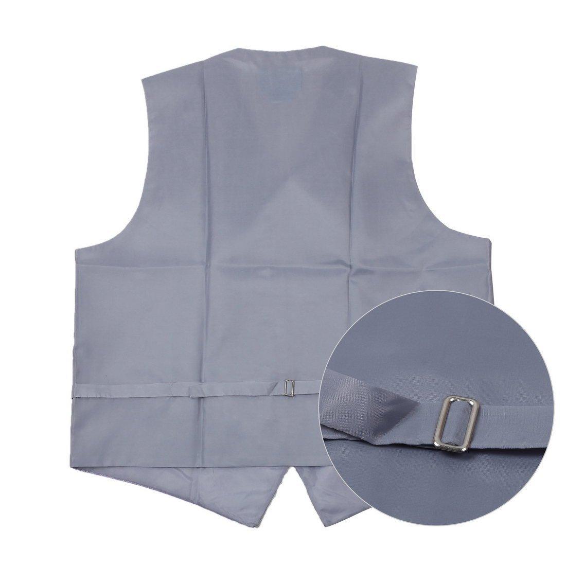 EGC1B01-03 Multi Mens Paisley Waistcoat Woven Microfiber S-3XL Vest By Epoint