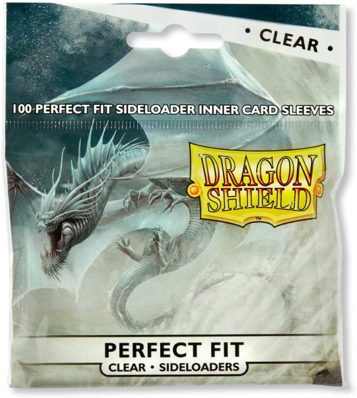 Dragon Shield 100 Standard Size Sideloader Clear Sleeves