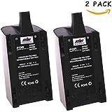 2Pcs Haute Capacité Nouveau Batterie Rechargeable 2500 mAh, 27,7 Wh 11,1V 10C en lithium-ion polymer Pack de Remplacement Pour Parrot Bebop Drone 3.0 Quadricoptère Télécommandé