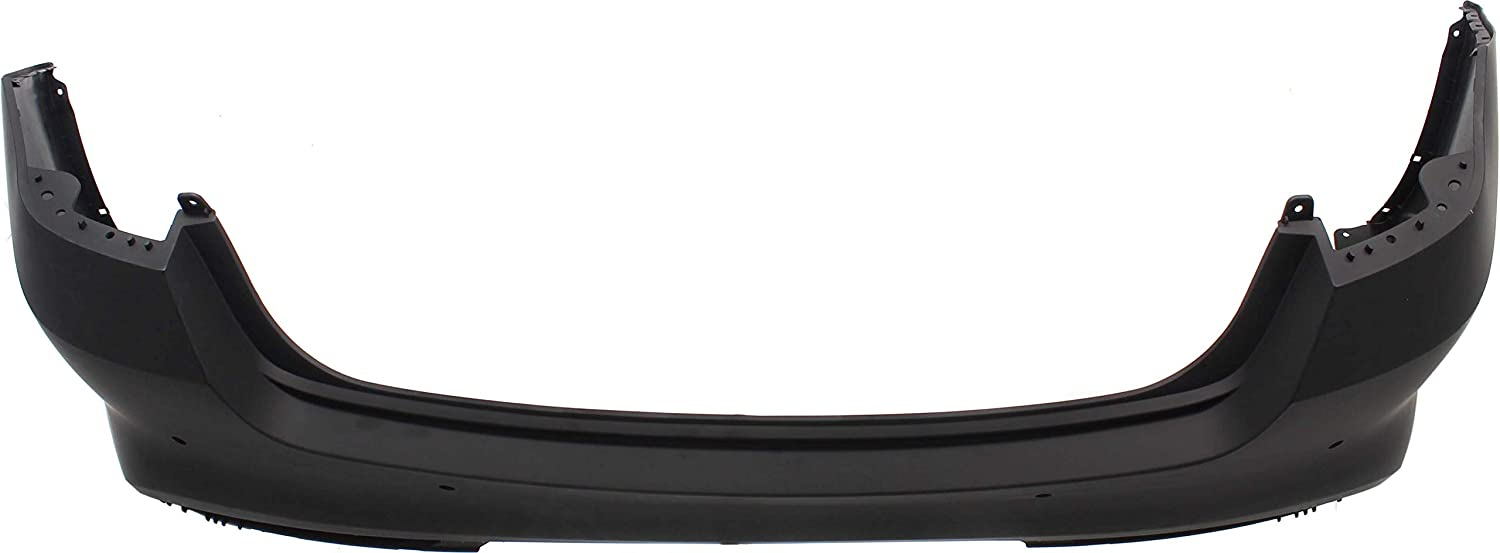 Rear Bumper Cover Compatible with 2016-2018 Kia Optima Primed USA Built with IPAS Holes CAPA