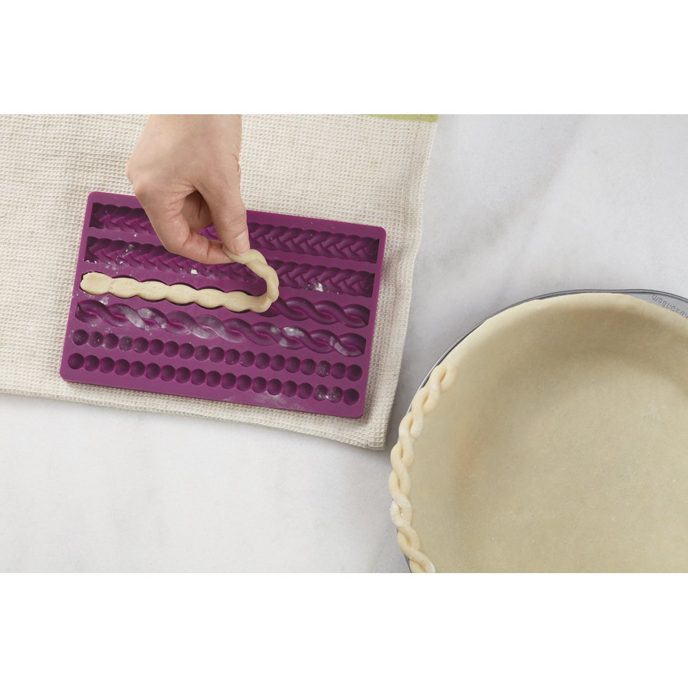 Decorative Pie Crust Impression Mat