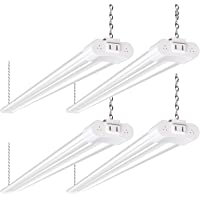 4 Pack 4FT LED Linkable Utility Shop Lights 36W