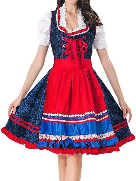 Vestido de mujer de PPangUDing, para Oktoberfest, niña, disfraz de ...