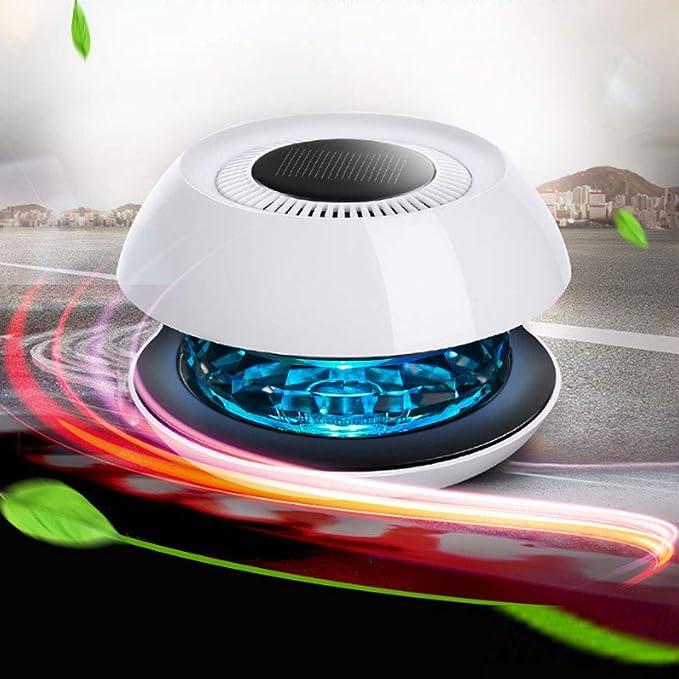 LZXLZX Mini Generador De Ozono Desodorante Purificador De Aire, Purificador De Energía Solar Desodorante De Aire Portátil para Espacios Pequeños Olor Claro: Amazon.es: Hogar