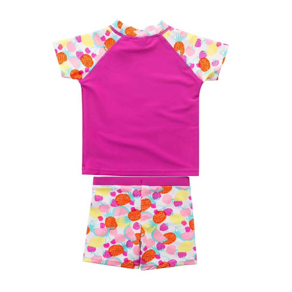 UV Swimsuit Wishere Baby Boy Girl Rash Guard Sets Two-Pieces UPF 30