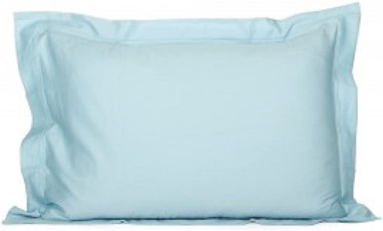 FRANCE YVES DELORME TRIOMPHE COTTON SATEEN PILLOW SHAM WITH DOUBLE SADDLE STITCH