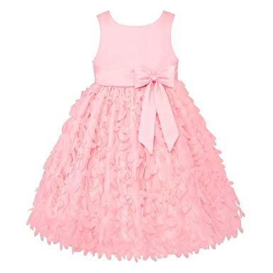 4dc065b9b6 Amazon.com: American Princess Around Flower Girl Petal Dress: Clothing