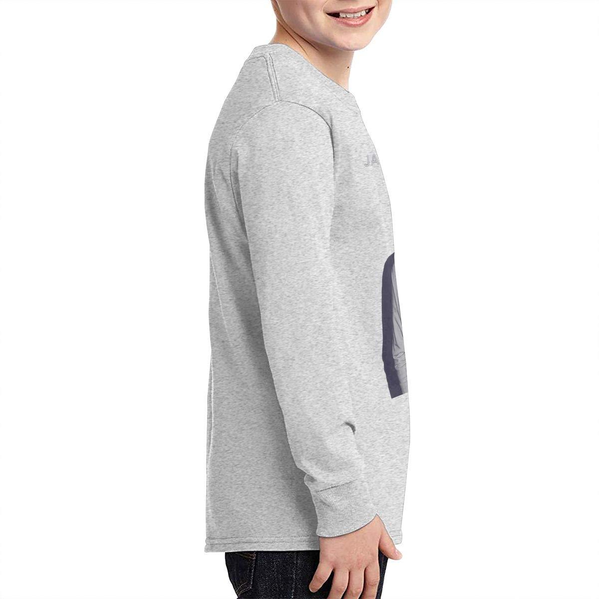 HangHisi James Arthur Boys /& Girls O Neck Regular Style Tee Long Sleeve T Shirt Leisure
