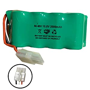 XBT1106N SV1110 Shark Battery 10.8v 2000mAh Ni-MH SV1106N SV1110N SV11O6N SV116N Floor and Carpet Sweeper Replacement