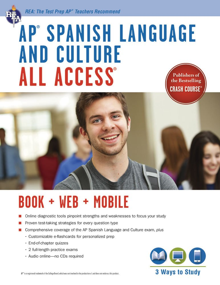 Read Online AP® Spanish Language and Culture All Access w/Audio: Book + Online + Mobile (Advanced Placement (AP) All Access) (English and Spanish Edition) ebook