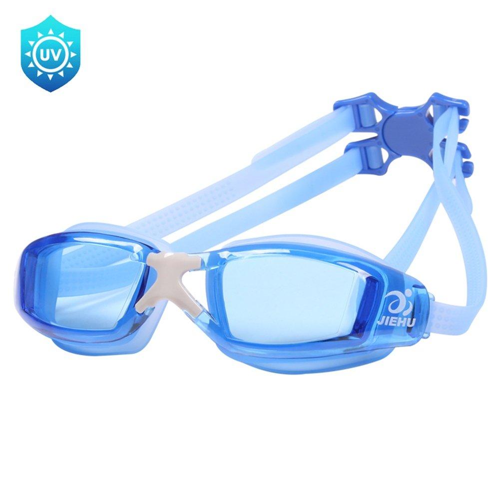 LLW Schwimmbrille, Schwimmbrille mit Anti-Fog, Wasserdicht, UV UV UV 400 Schutzgläser, für Erwachsene Männer Frauen Jugend Kinder Kinder, B07FFP1Z37 Schwimmbrillen Bestellungen sind willkommen 5e2a9f