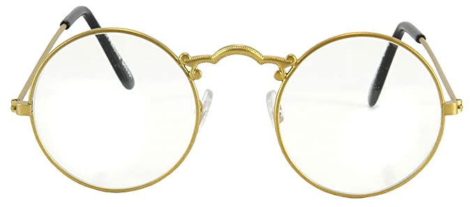 Men's Steampunk Goggles, Guns, Gadgets & Watches elope Old Fashioned Glasses $9.99 AT vintagedancer.com