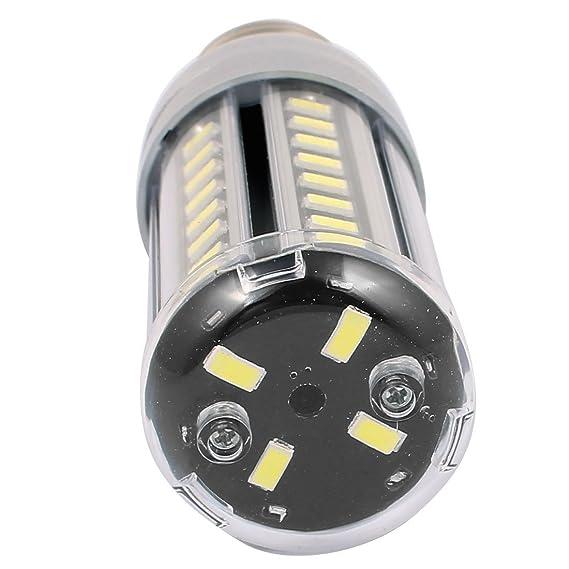 eDealMax AC85-265V 9W x 52 5730SMD E14 del maíz del LED bombilla de la lámpara ahorro de energía blanca pura - - Amazon.com