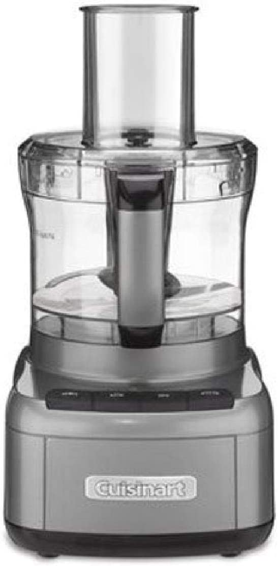 Cuisinart FP-8GMP1 Elemental 8-Cup Food Processor, Gunmetal
