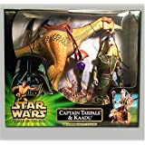 "Star Wars Power of the Jedi 12"" Captain Tarpals and Kaadu"