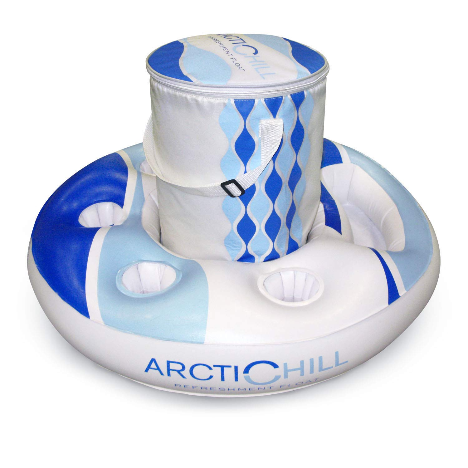 Poolmaster Refreshment and Beverage Floating Cooler, Artic Chill