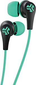 JLab Audio JBuds Pro Bluetooth Wireless Signature Earbuds   Titanium 10mm Drivers   6-Hour Battery Life   Music Controls   Noise Isolation   Bluetooth 4.1 Extra Gel Tips and Cush Fins   Graphite/Teal