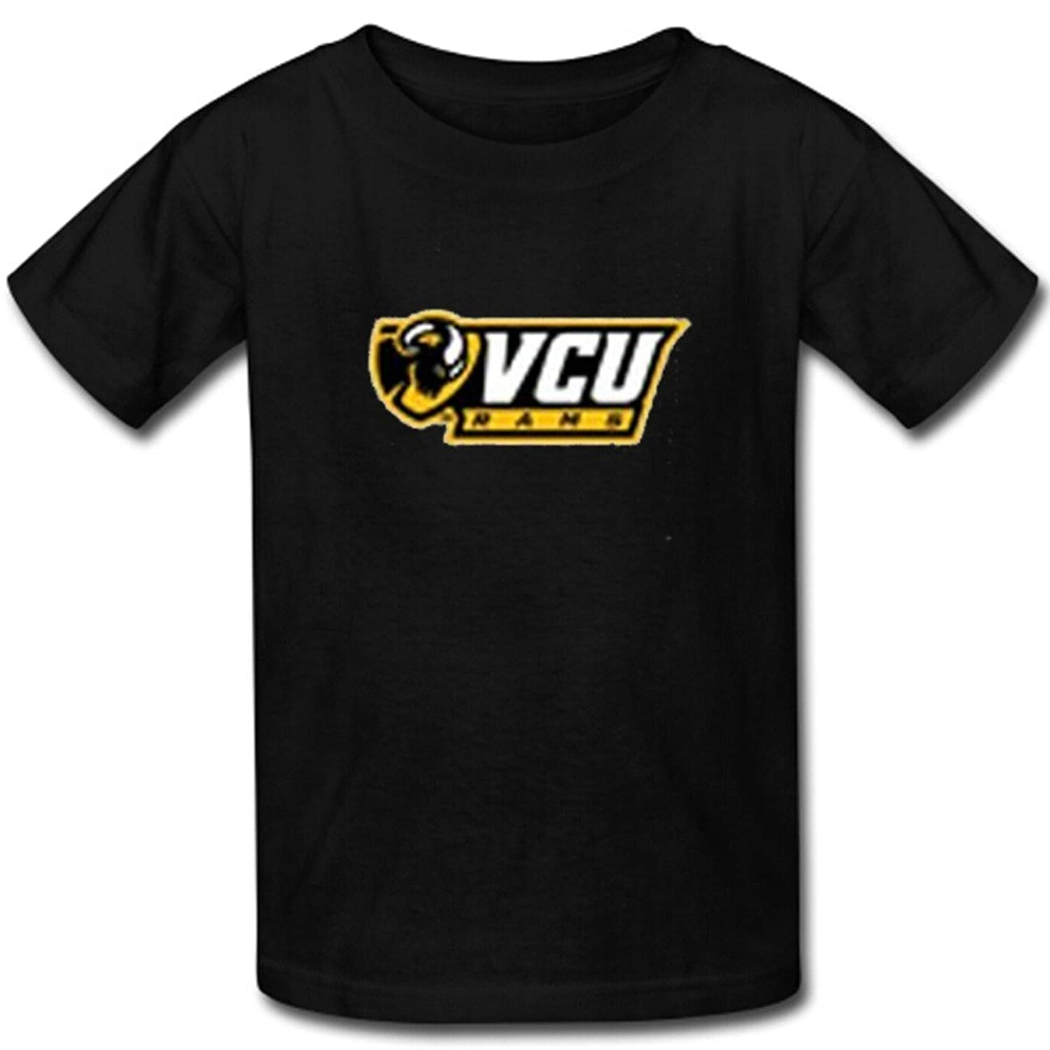 Michaner Walosde Booster Men's custom VCU Rams T-shirt cotton short sleeve shirts for men