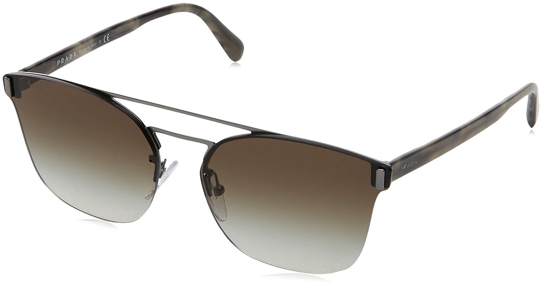 Prada 67Ts, Gafas de Sol Unisex Adulto, Marrón (Matte Brown ...