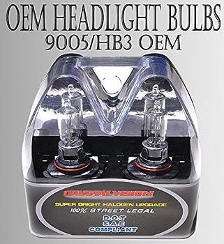 9005-HB3 65W HIGH BEAM OEM FACTORY STOCK HEAD LIGHT BULBS DOT APPROVED