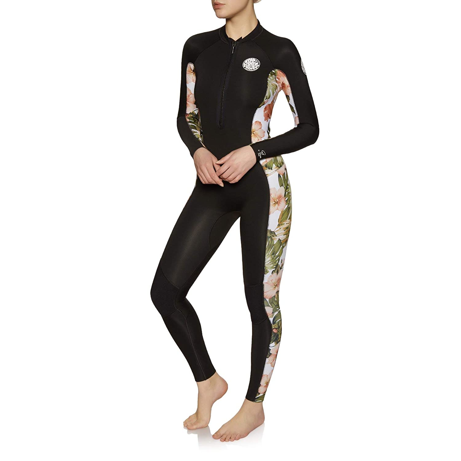 RIP CURL Womens G-Bomb 2mm Front Zip Wetsuit White WSM8HS