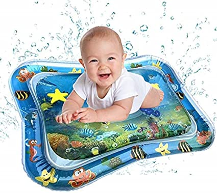 Baby Inflatable Water Play Mat Indoor /& Outdoor Pad for Toddlers /& Infants Fun