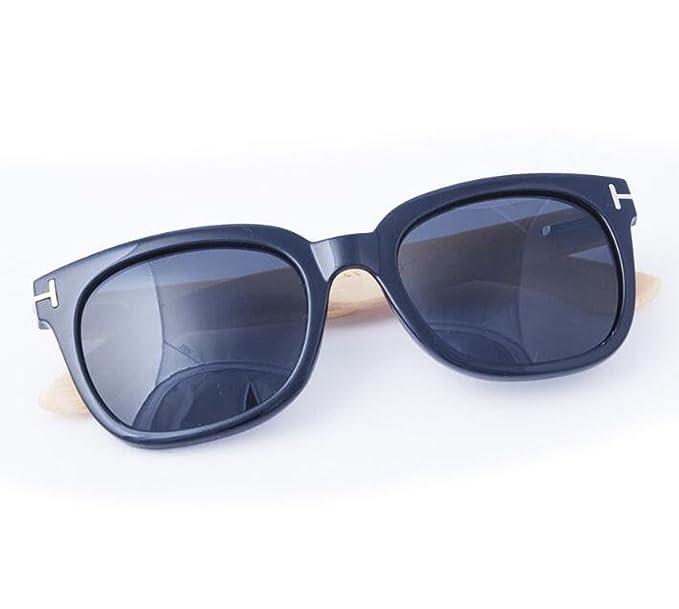 Patas De Bambú Polarizadas Gafas De Sol Moda Hombres Y ...