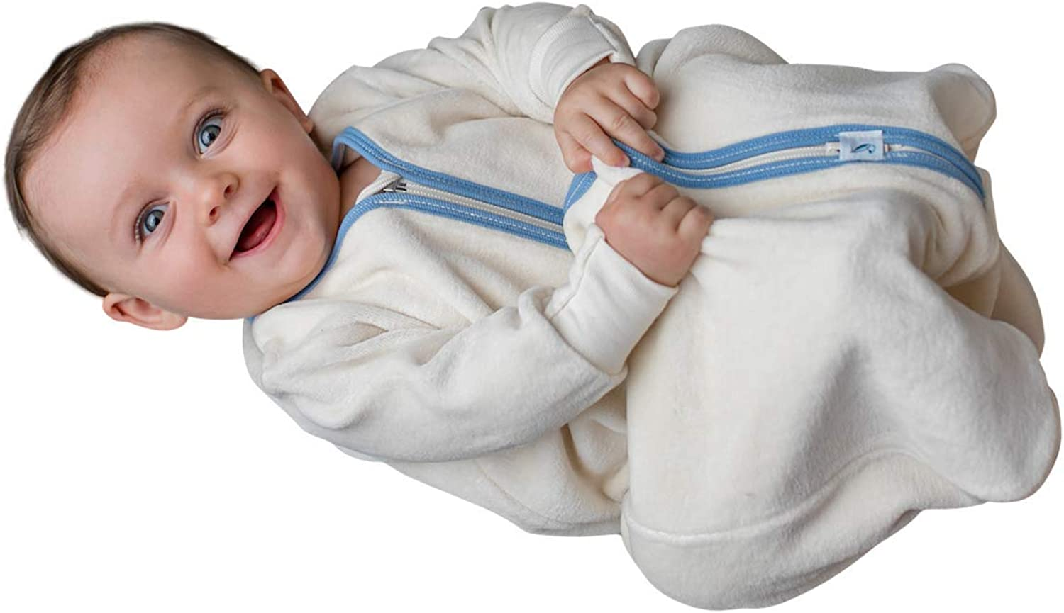 for Toddlers /& Babies Sleeveless CastleWare Baby: Organic Cotton Rib Knit Sleeper Bag /& Wearable Blanket 3 Months-4 Years